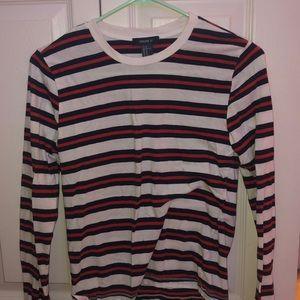 Girls Striped Long Sleeve